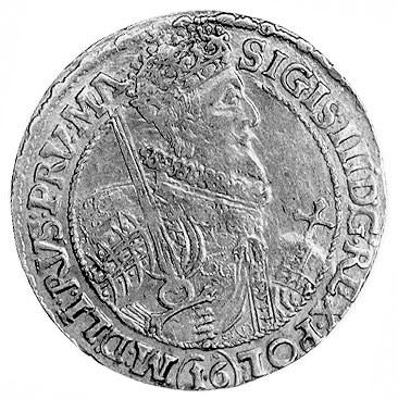 ort 1621, Bydgoszcz, Aw: Popiersie i napis, Rw: Tarcza ...