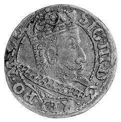 grosz 1607, Kraków, j.w., Gum. 941, Kurp. 343 R, h. Lew...