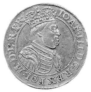 dukat 1688, Gdańsk, Aw: Popiersie w koronie i napis, Rw...