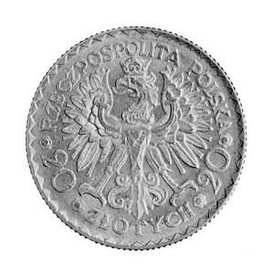 20 i 10 złotych 1925, Warszawa, Chrobry, odmiana złoto ...