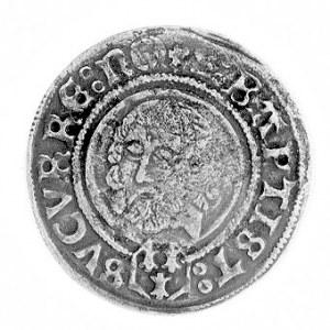 grosz 1506, Nysa, Aw: Tarcza herbowa i napis, Rw: Głowa...