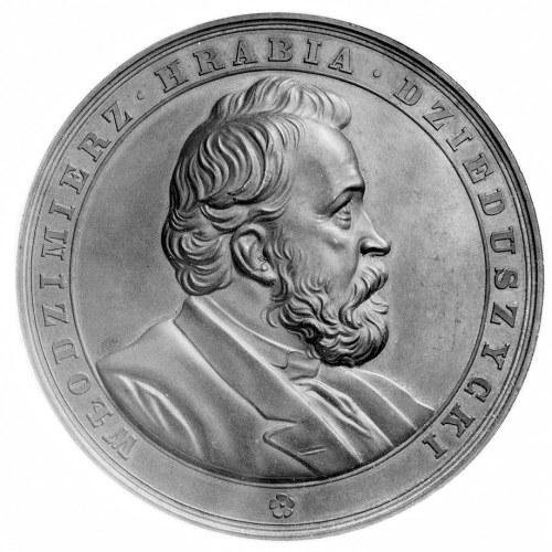 medal poświęcony Włodzimierzowi Dzieduszyckiemu- prezes...