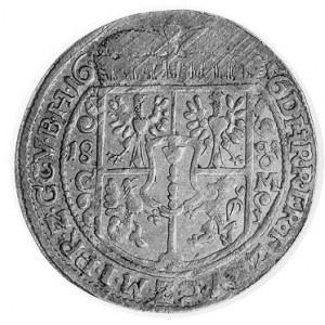 ort 1656, Królewiec, Aw: Popiersie w prawo, w otoku nap...