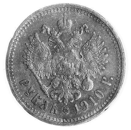 rubel 1910, Petersburg, j.w., Uzd.2138