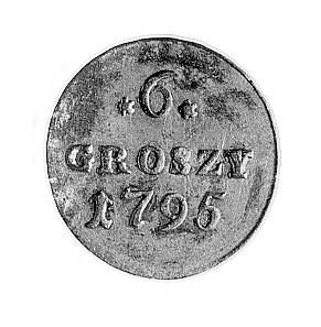 6 groszy 1795, Warszawa, j.w., Plage 212.