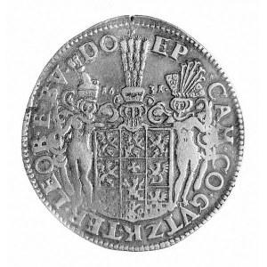 talar 1631, Szczecin, Aw: Popiersie i napis, Rw: Tarcza...