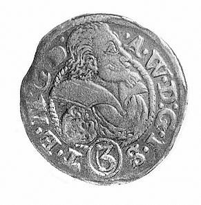 3 krajcary 1611, Aw: Popiersie i napis .A.W.D.G.I.S(3)....
