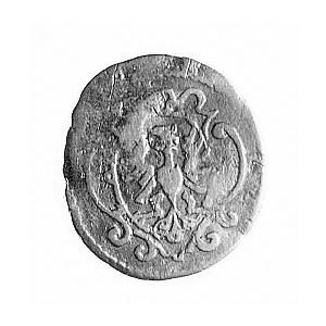 trzeciak 1611, Aw: Tarcza herbowa, Rw: Orzeł, poniżej h...
