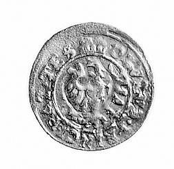 obol 1652, j.w., odmiana napisu na awersie OBVLVS.PRINC...