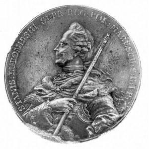 medal autorstwa J. F. Holzhaeussera wybity dla uczczeni...