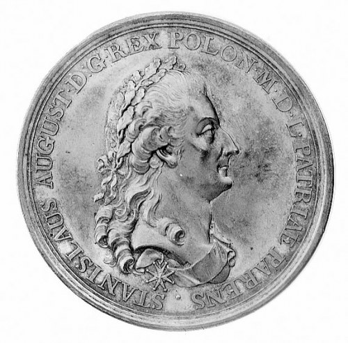 medal autorstwa Holtzheya wybity z okazji uchwalenia Ko...