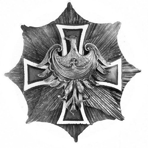 odznaka honorowa Gwiazda Górnośląska, tzw. odmiana mała...