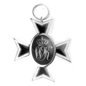 Order Wilhelma - krzyż rycerski, brak wstążki, złoto, e...