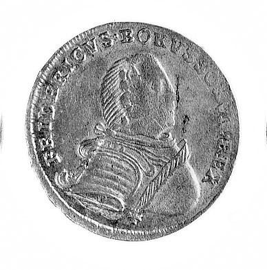 Friedrich II Wielki 1740-1786, ort 1751, Królewiec, Aw:...