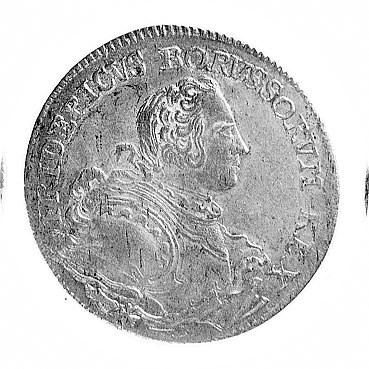ort 1752, Wrocław, Aw: Popiersie i napis w otoku, Rw: O...