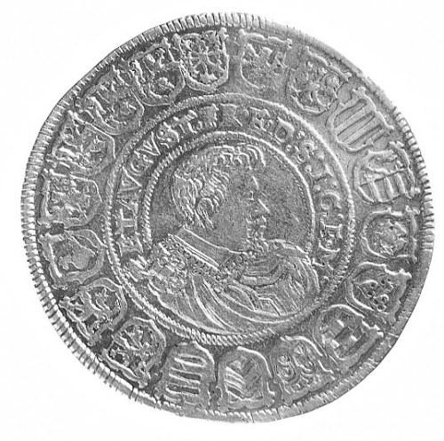 talar 1615, Drezno, Aw: Półpostać Johanna Georga, w pol...