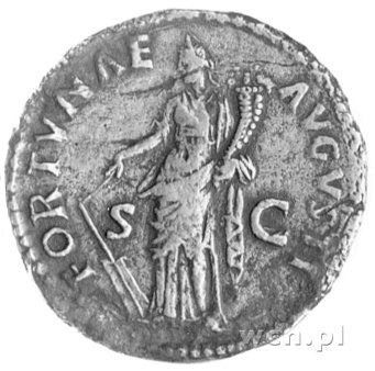 dupondius, Aw: Popiersie w koronie radialnej w prawo i ...