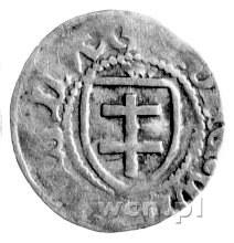 trzeciak, Aw: Podwójny krzyż i napis, Rw: Orzeł i napis...