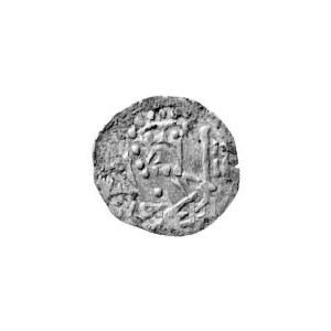 halerz, (1425 r.), Aw: Św. Piotr z kluczem w lewo, Rw: ...