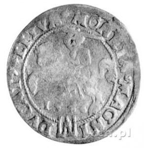 grosz na stopę litewską 1546, Wilno, drugi egzemplarz.