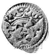 denar 1555, Gdańsk, Kurp. 926 R3, Gum. 640, T.8.