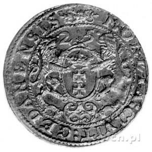 ort 1625, Gdańsk, Kurp. 2265 R, Gum. 1393.