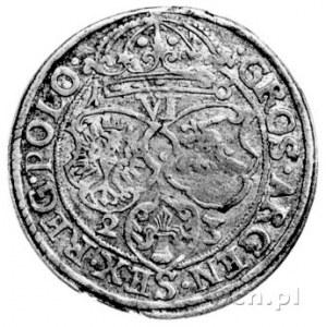 szóstak 1623, Kraków, odmiana z rozstrzeloną datą 1-6 u...