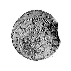 szeląg 1617, Wilno, data 16-17, tarcze herbowe wygięte,...