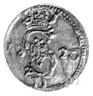dwudenar 1620, Wilno, odwrócona cyfra 6 w dacie, Kurp. ...
