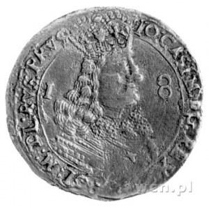ort 1656, Lwów, Kurp. 391 R2, Gum. 1753, moneta uderzon...