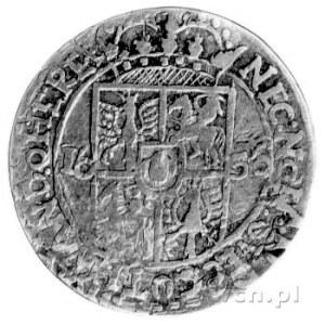 ort 1656, Lwów, zamiast liter V są litery Y, na końcu n...