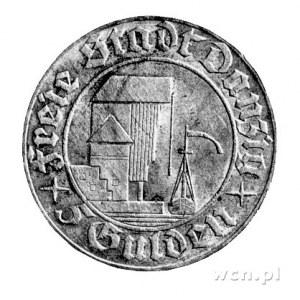 5 guldenów 1932, Berlin, Żuraw portowy.