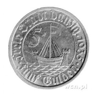 5 guldenów 1935, Berlin, Koga.