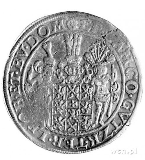 talar 1634, Szczecin, moneta z tytulaturą biskupa kamie...