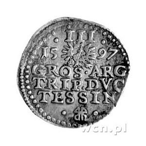 trojak 1597, Cieszyn, drugi egzemplarz.
