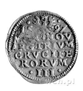 3 krajcary 1597, Cieszyn, F.u S. 2988.