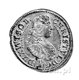 1 krajcar 1680, Oleśnica, F.u S. 2368, ładnie zachowana...