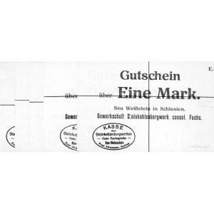 Kamionek /Neu Weissstein/- 1, 2, 3, 5 i 10 marek bez da...