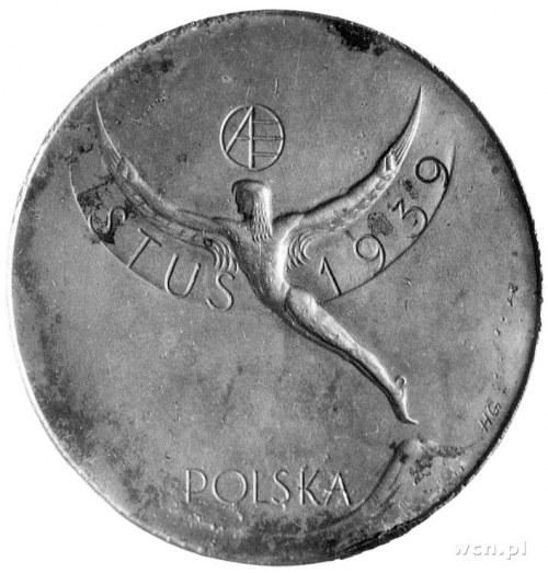 medal jednostronny autorstwa Henryka Grunwalda wybity z...