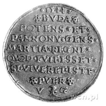 medal autorstwa Wolfganga Guglingera z Krzemnicy, wybit...