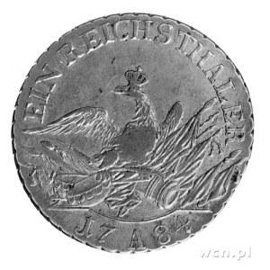 talar 1784, Berlin, Aw: Głowa w lewo, Rw: Orzeł pruski ...