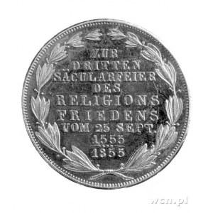 podwójny gulden 1855, Thun 138.