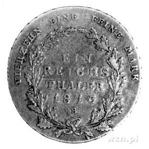 talar 1813-B, Kłodzko, Thun 244 B, rzadki.