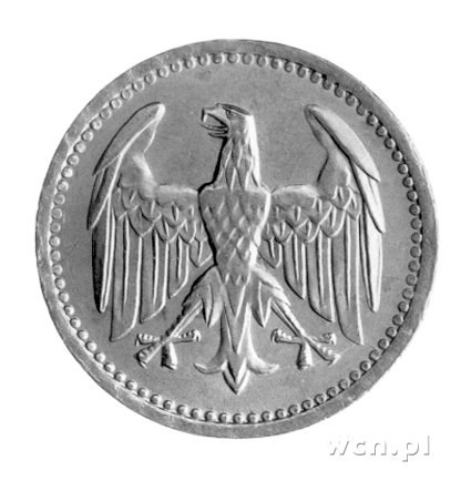 3 marki 1924-A, obiegowe, J. 312.