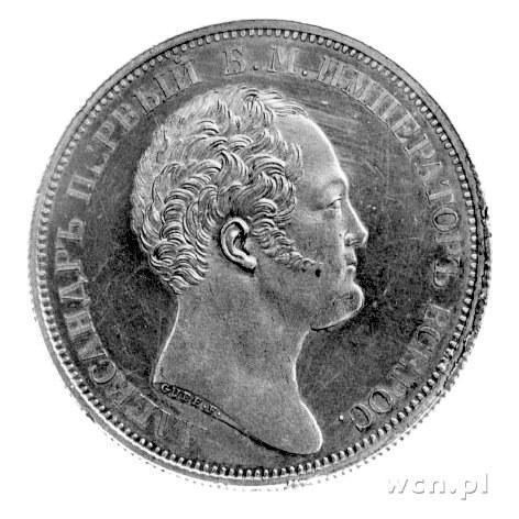 rubel \pomnikowy\ 1834