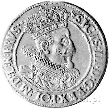 ort 1615, Gdańsk, drugi egzemplarz, odmiana z dwukropki...