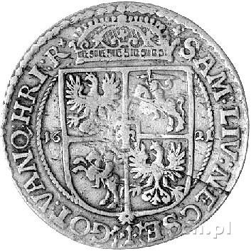 ort 1621, Bydgoszcz, brak ozdobników przy tarczy herbow...