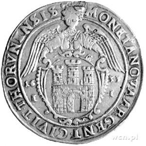 talar 1633, Toruń, Kurp. 270 R4, Dav. 4374, ślad po uch...