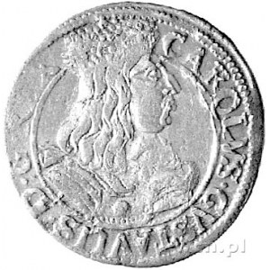 ort 1657, Elbląg, okupacja szwedzka, popiersie króla Ka...