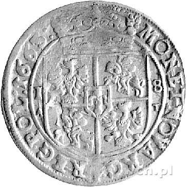 ort 1663, Kraków, Kurp. 453 R, Gum. 1761.